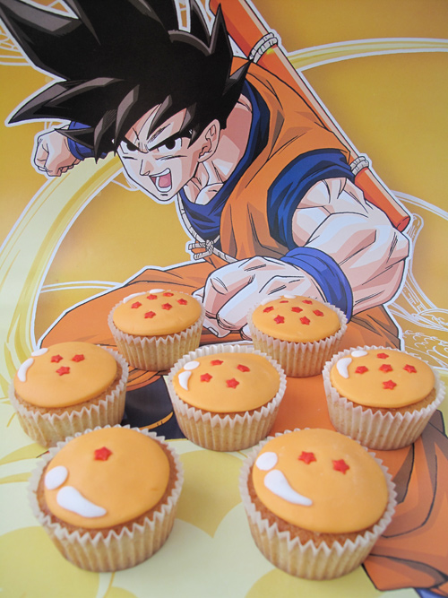Dragon Ball Z Cake Decorating Kit : La Tacita Cupcakes